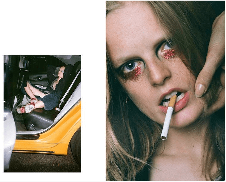 Dazed and Confused Hanne Gaby