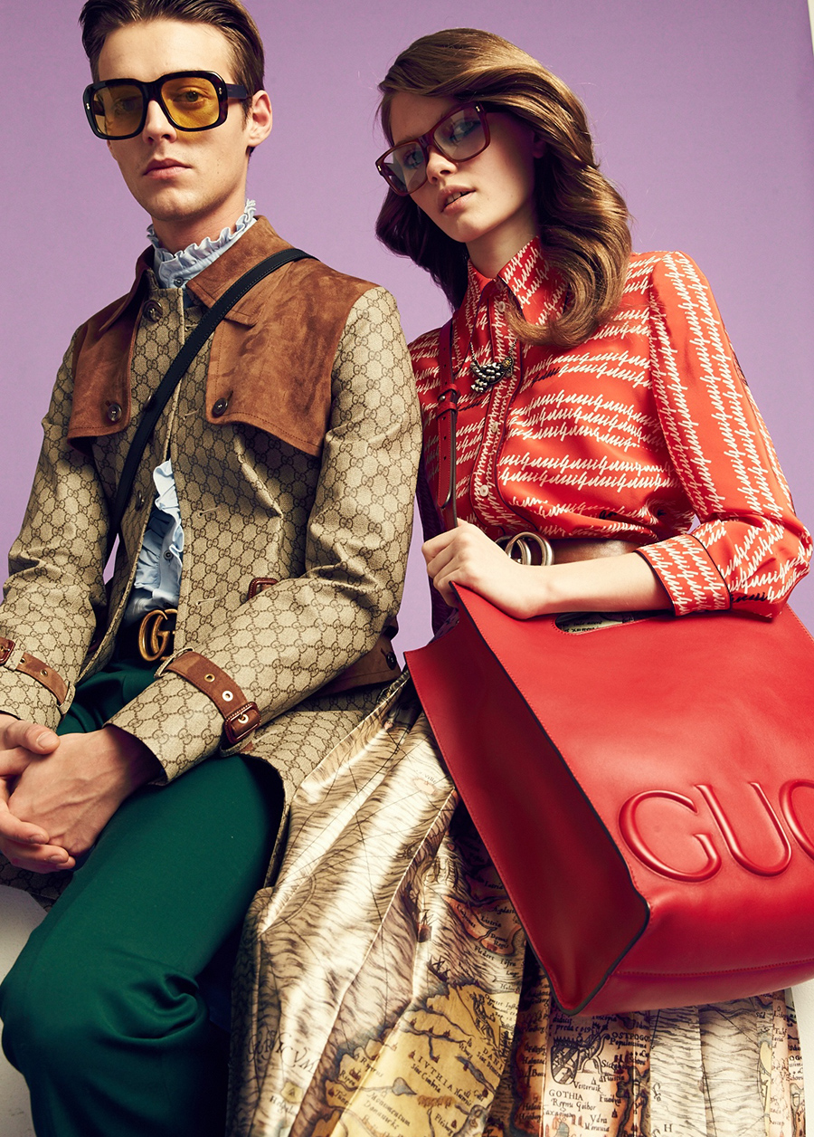 HEREN Magazine gucci