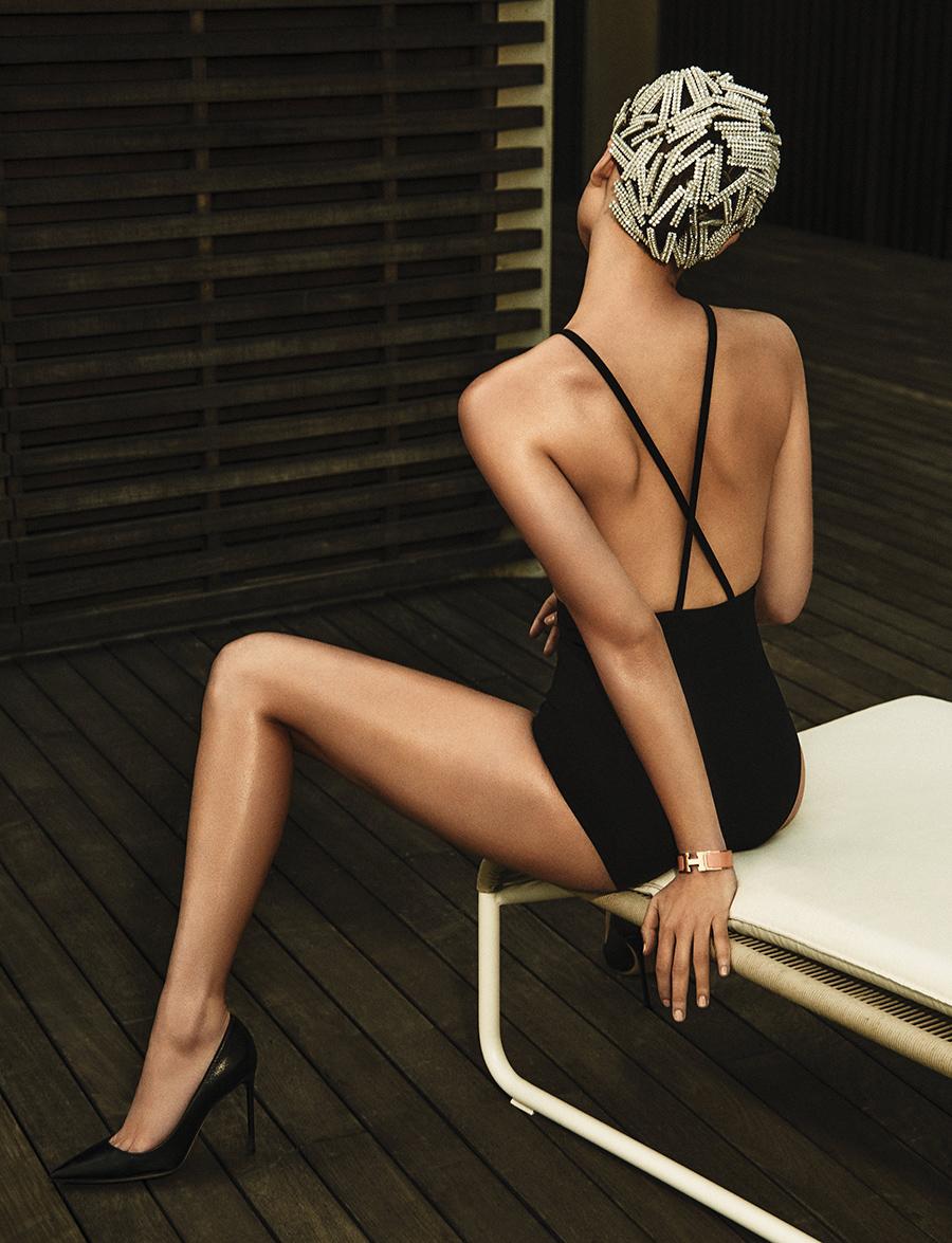 HEREN Magazine summer swim suit