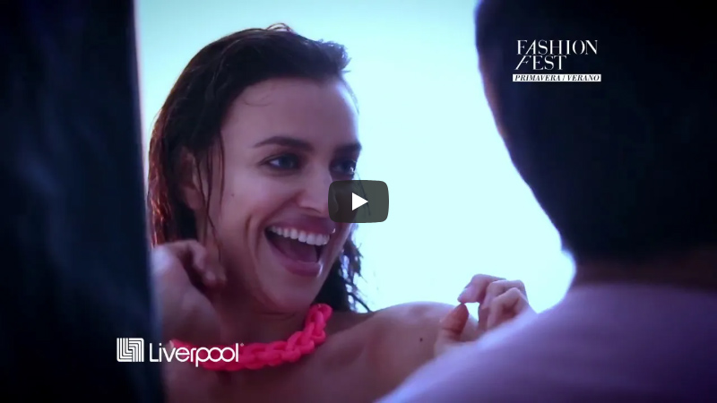 Liverpool Department x Irina Shayk