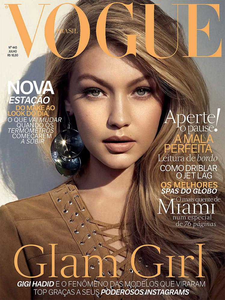 VOGUE Brasil / Gigi Hadid
