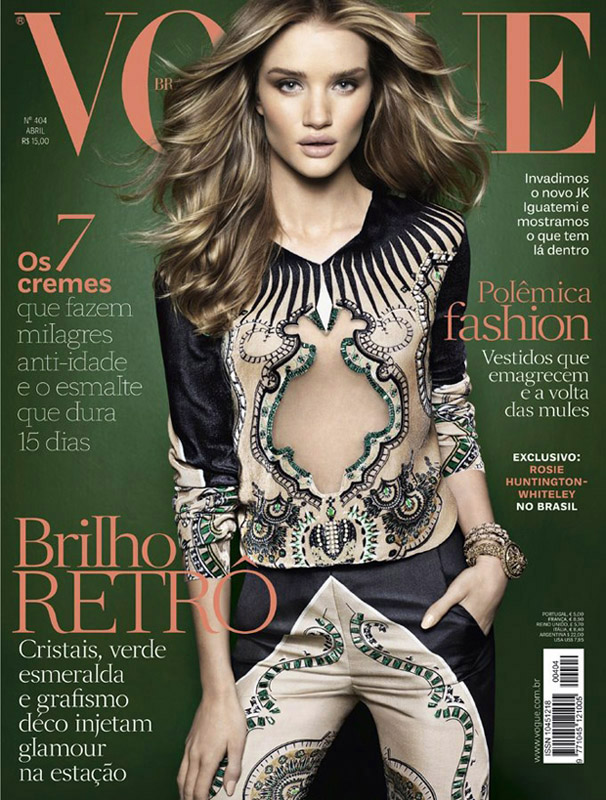 VOGUE Brasil / Rosie Huntington-Whiteley