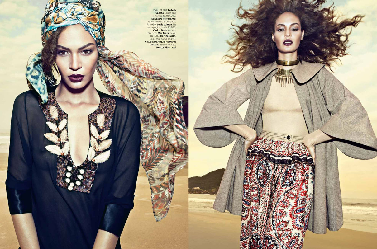 VOGUE Brasil / Joan Smalls