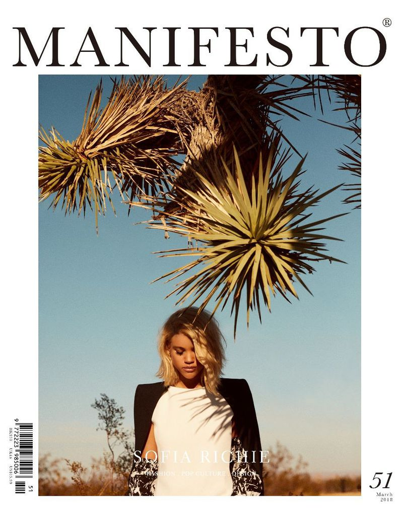 Manifesto Magazine Sofia Richie