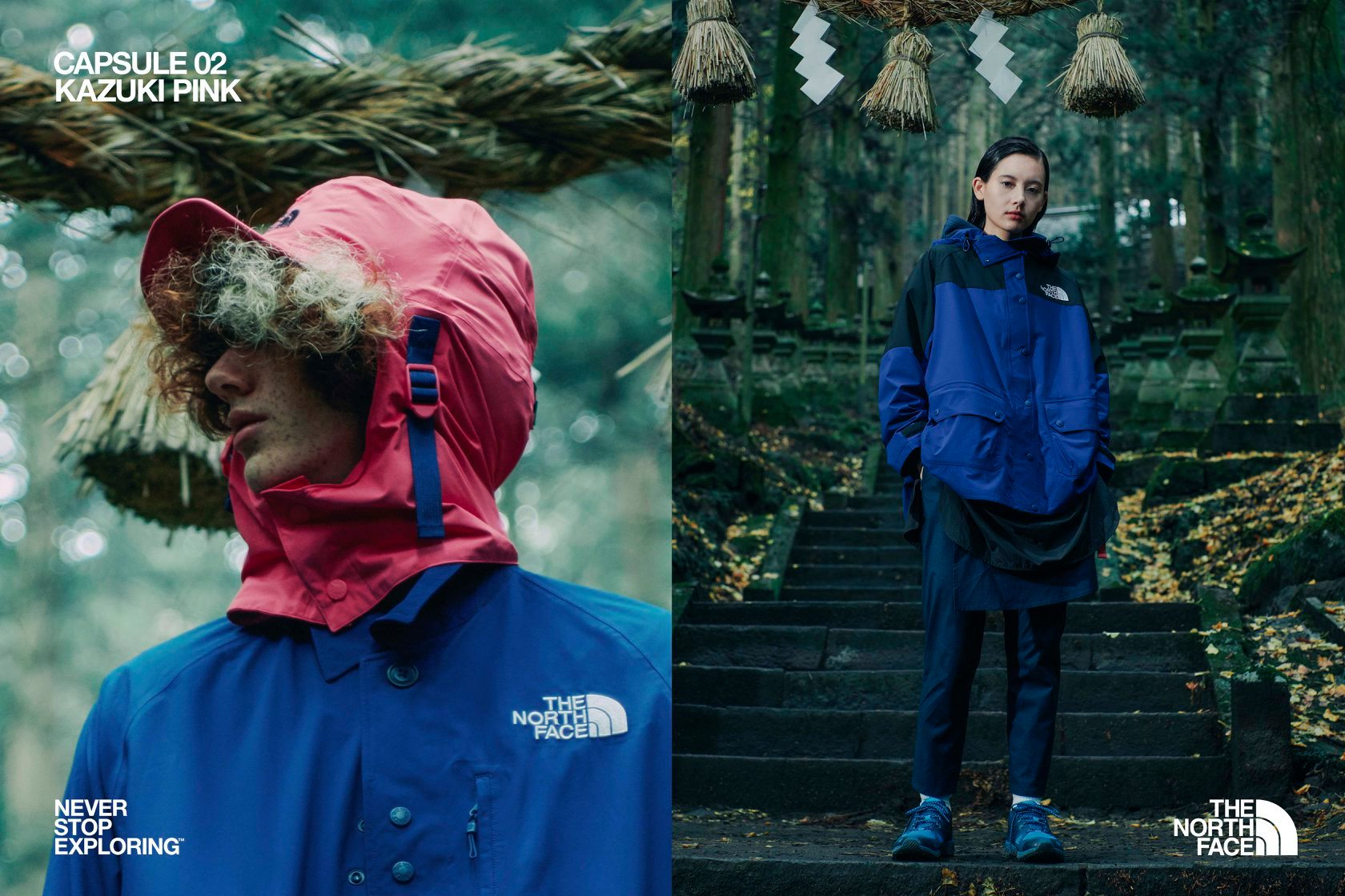 The North Face UE SS2020 02 KAZUKI PINK